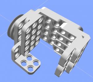 Right hand of Darwin Mini robot